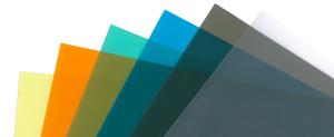クリアファイルを色の種類